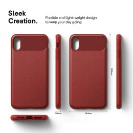 Caseology Vault Case - Etui iPhone Xs Max (Red)