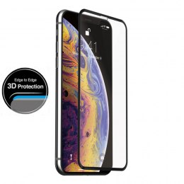 Just Mobile Xkin 3D Tempered Glass Screen Protector - Szkło ochronne hartowane iPhone 11 Pro Max / Xs Max (Transparent/ Black)