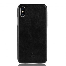 Crong Essential Cover - Etui iPhone Xs / X (czarny)