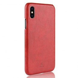 Crong Essential Cover - Etui iPhone Xs / X (czerwony)