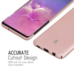 Crong Smooth Skin - Etui Samsung Galaxy S10+ (Rose Gold)