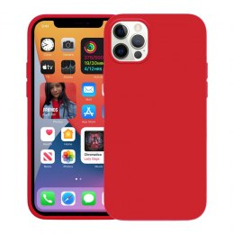 Crong Color Cover - Etui iPhone 12 Pro Max (czerwony)